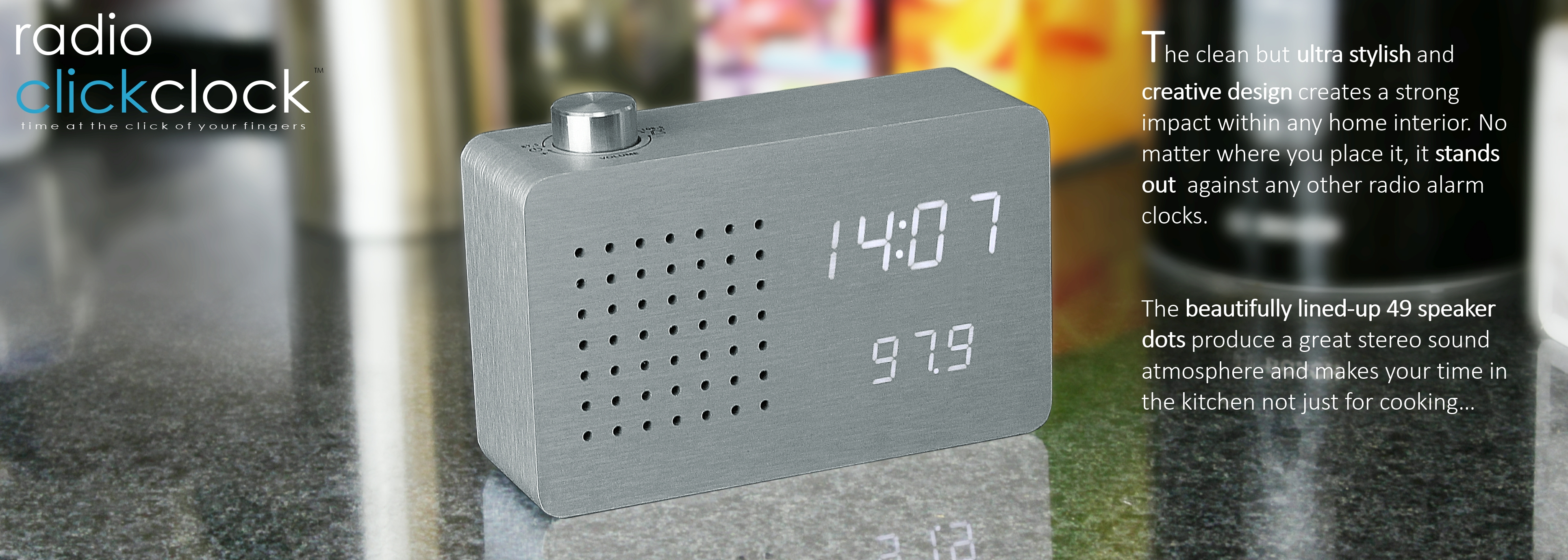 Radio Click Clock