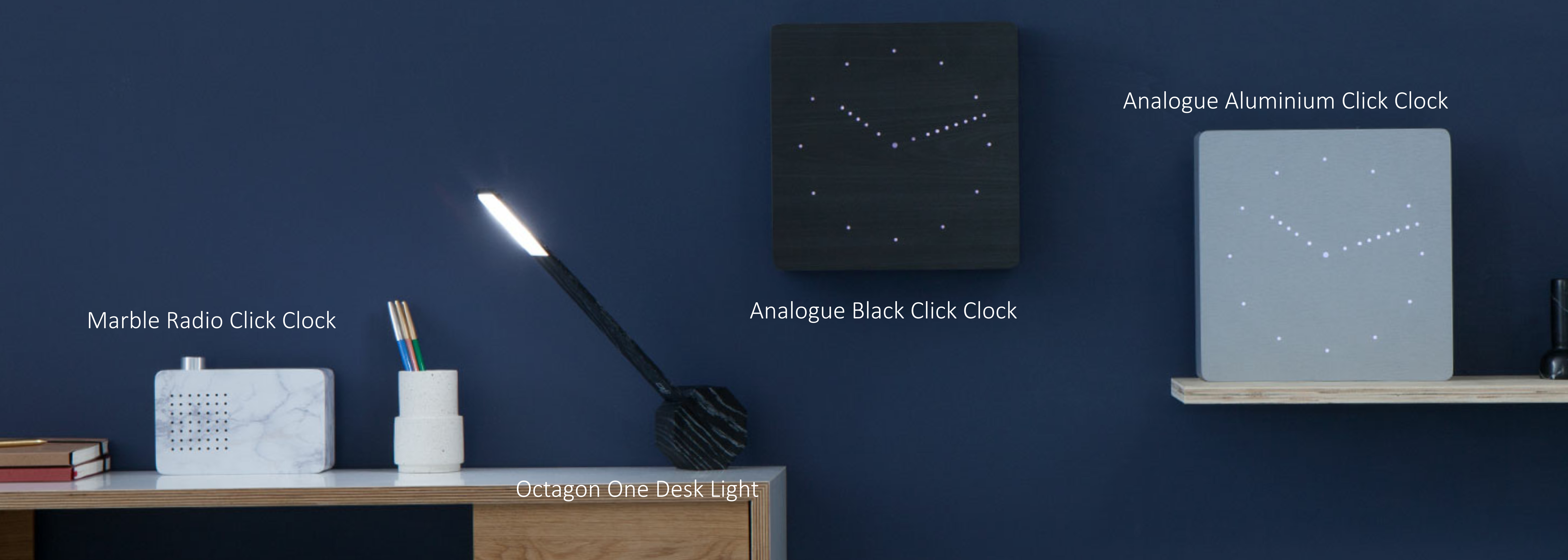 Analogue Click Clock